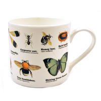 Insects Fine Bone China Mug Thumbnail 1