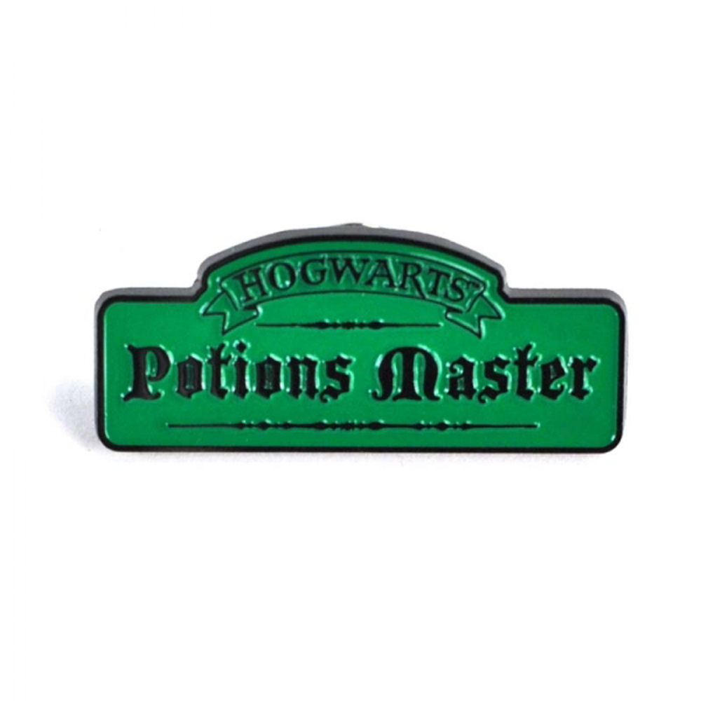 Harry Potter Hogwarts Potions Master Pin Badge