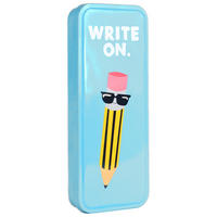 Jolly Awesome Write On Pencil Tin
