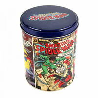 Amazing Spider-Man Comic Covers Tin Canister