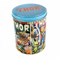Mighty Thor Comic Covers Tin Canister