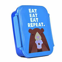 Jolly Awesome Eat Eat Eat Repeat Lunch Box