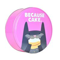 Jolly Awesome Because Cake Storage Tin
