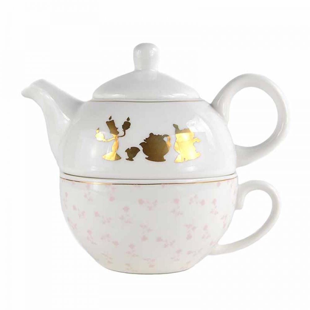 Beauty & The Beast Teapot & Mug Set | Homeware | KitschaGoGo