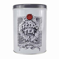 Typhoo Tea Leaves Vintage Logo Storage Tin