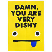 Jolly Awesome Damn You Are Very Dishy Tea Towel