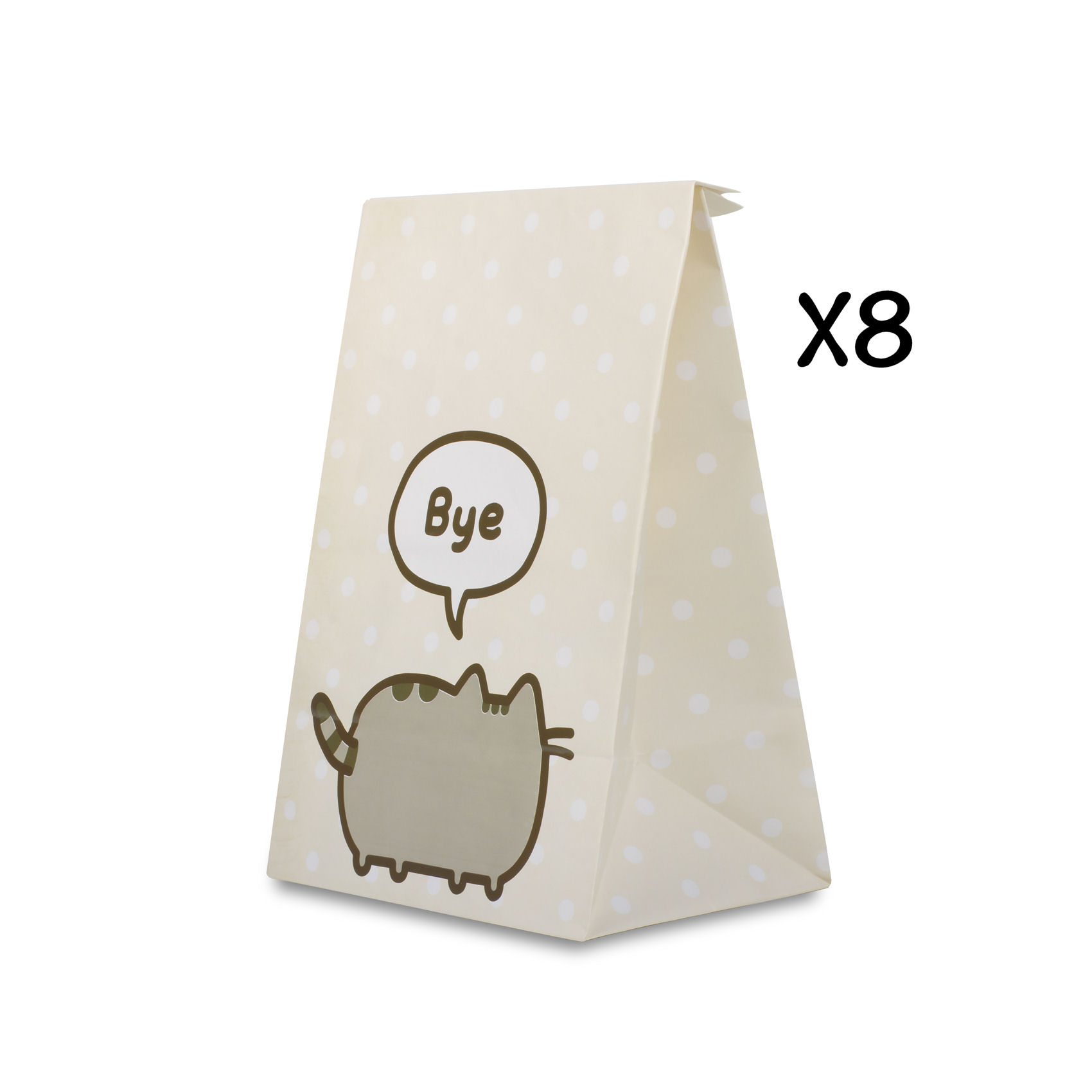 Pack of 8 Pusheen Party Bags