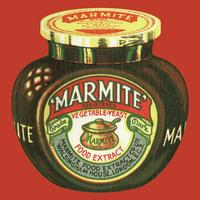 Vintage Marmite Jar Single Coaster