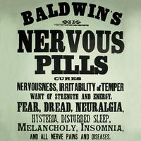Nervous Pills Single Coaster
