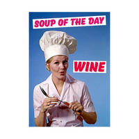 Soup of the Day WINE Fridge Magnet
