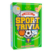 The Big Sport Quiz Trivia Cards