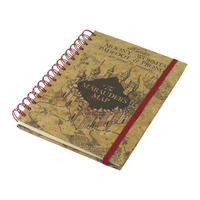 Harry Potter Marauder's Map A5 Notebook