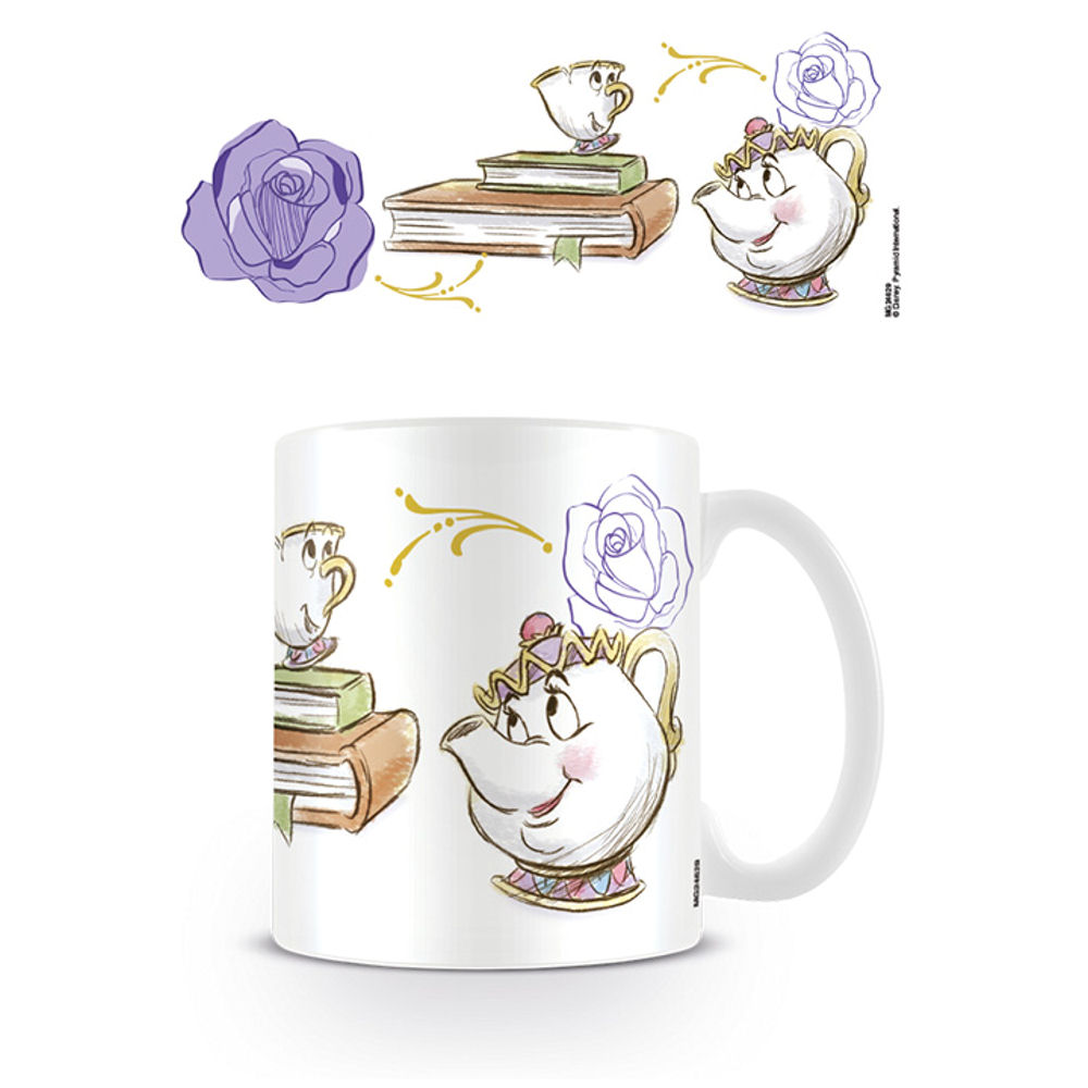 Beauty And The Beast Chip Cup BEAUTY & THE BEAST...