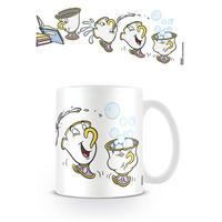 Beauty And The Beast Chip Playtime Mug Thumbnail 1