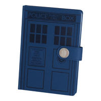 Doctor Who Tardis Premium A5 Hardback Notebook