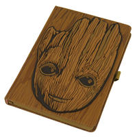 Guardians of the Galaxy Groot Face Premium A5 Hardback Notebook Thumbnail 1