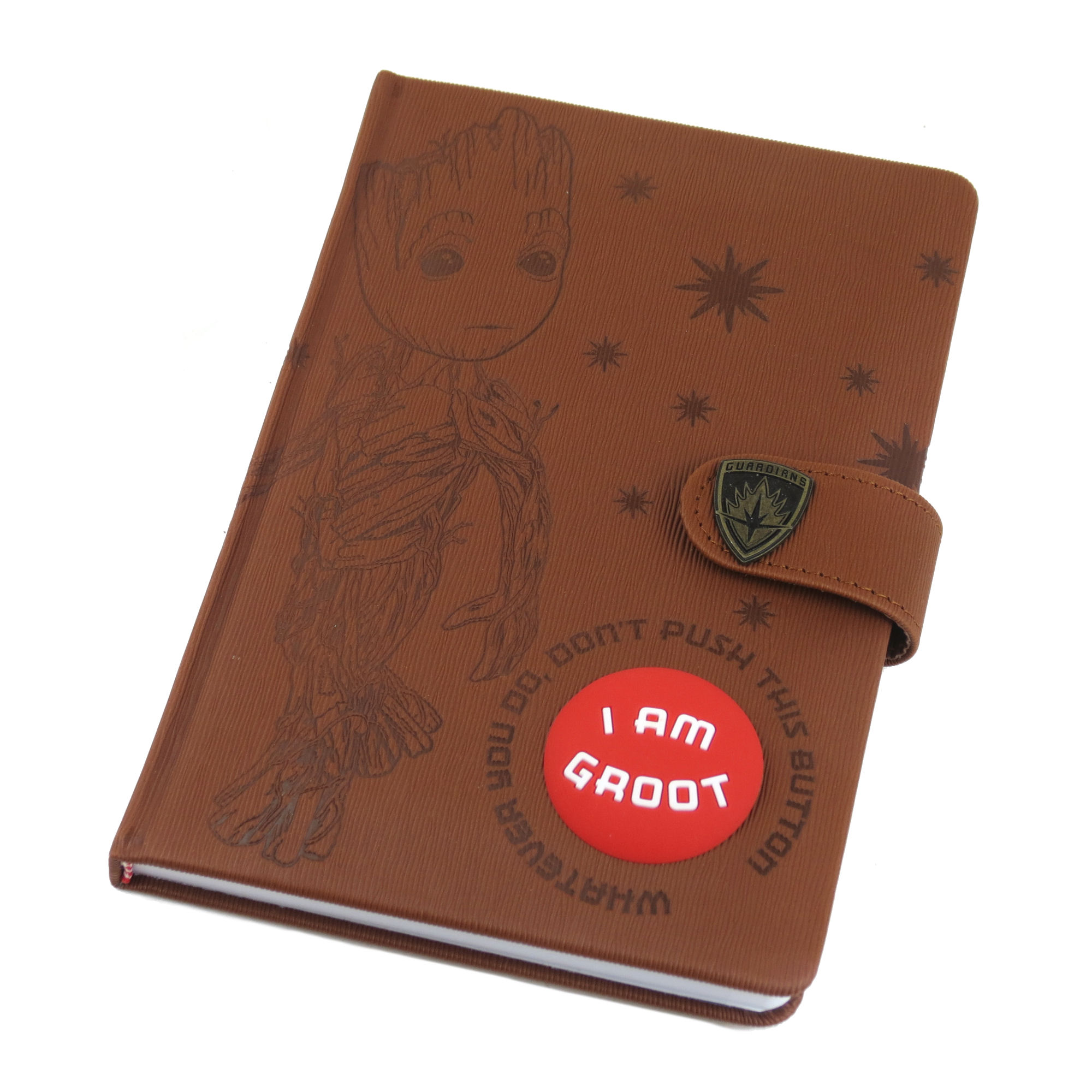 Guardians of the Galaxy I Am Groot Audio Premium A5 Hardback Notebook
