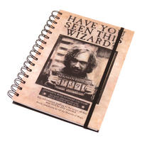 "Harry Potter ""Wanted Sirius Black"" A5 Notebook Thumbnail 1"