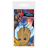 Guardians of the Galaxy Vol.2 Baby Groot Face PVC Keyring