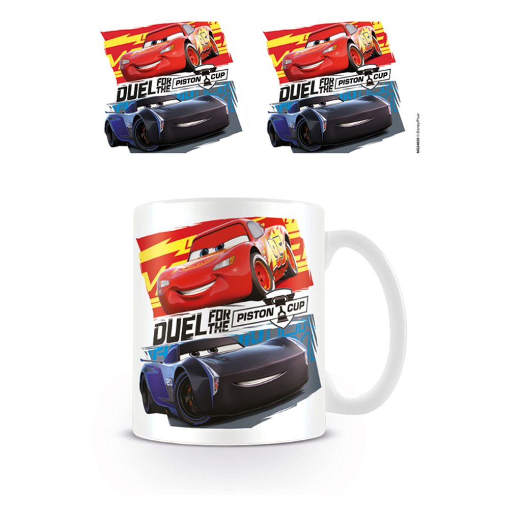 Cars 3 Duel for the Piston Cup Mug
