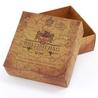 Harris Tweed Beige & Blue Carloway Tartan Trinket Box Thumbnail 3