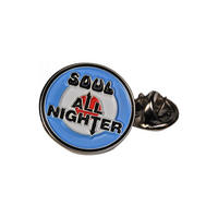Northern Soul All Nighter Pin Badge