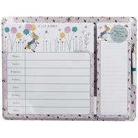 Peter Rabbit Weekly Planner & Shopping List Pad