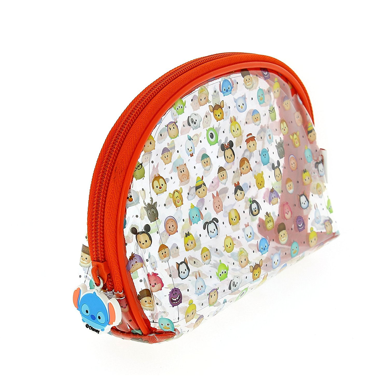 Disney Tsum Tsum Large Clear Pencil Case