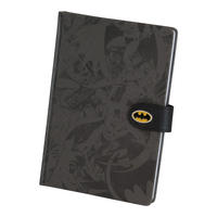 Batman Montage Debossed A5 Hardback Notebook