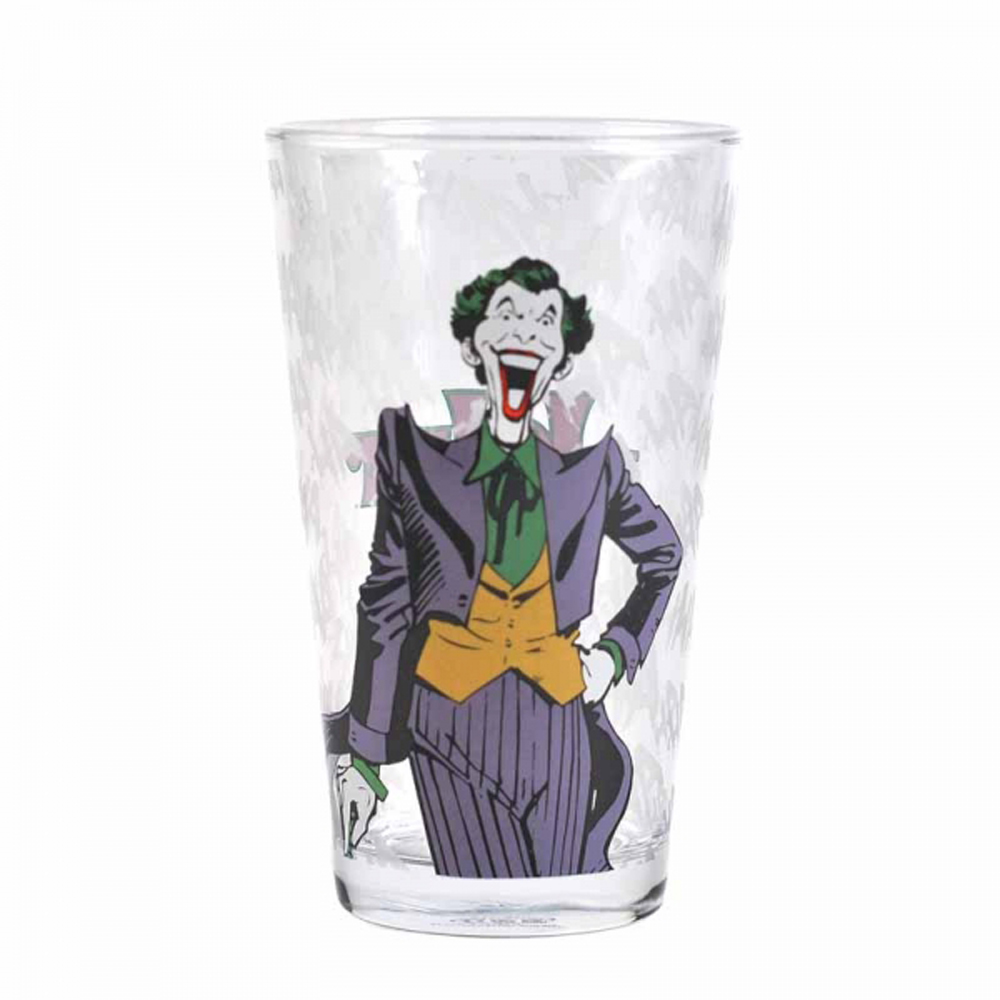 The Joker Large Glass