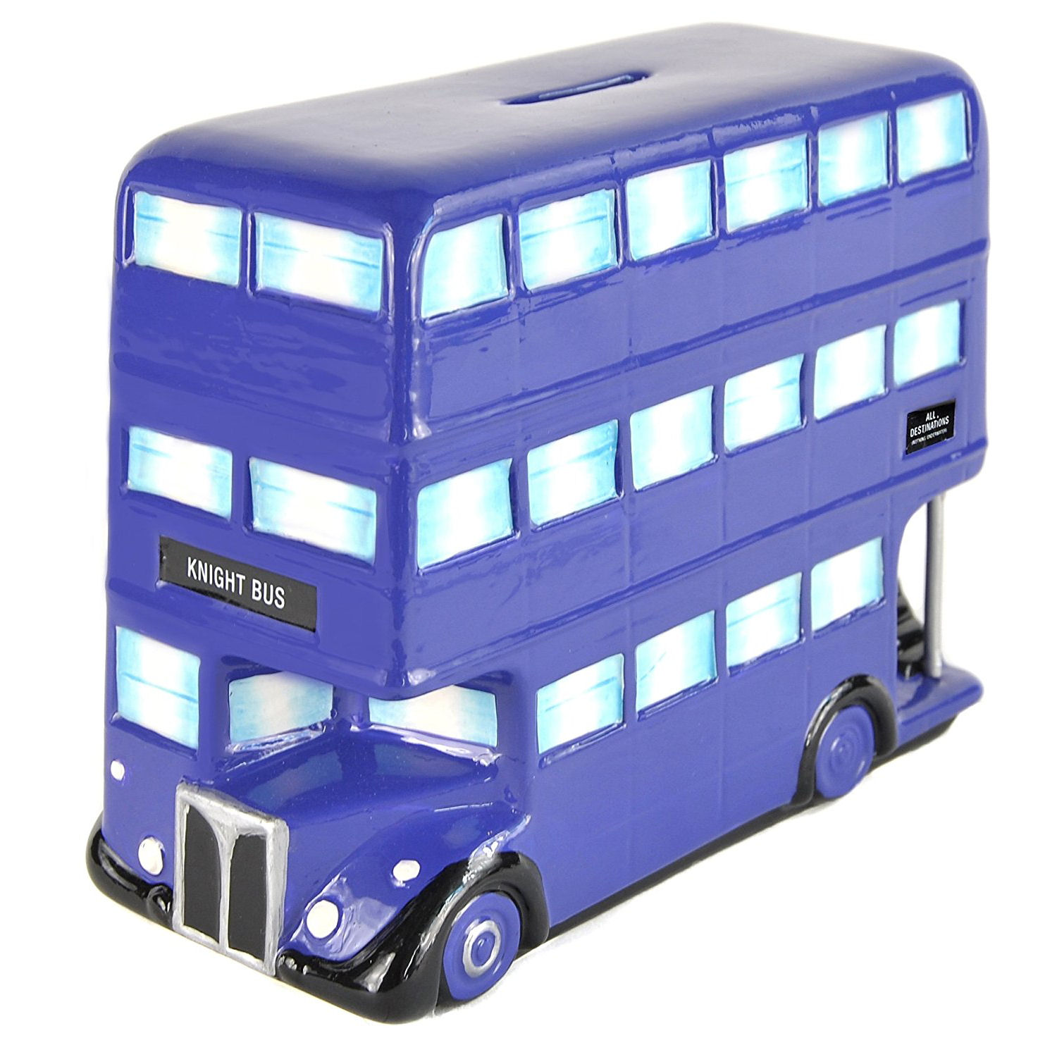 Harry Potter Knight Bus Ceramic Money Box
