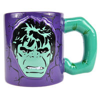 The Incredible Hulk Embossed Mug with Shaped Handle