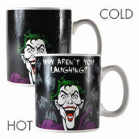 "The Joker ""Why Aren't You Laughing?"" Heat Change Mug Thumbnail 1"