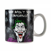 "The Joker ""Why Aren't You Laughing?"" Heat Change Mug Thumbnail 3"