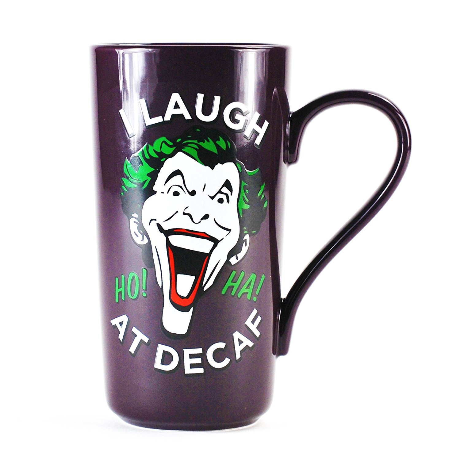 The Joker I Laugh At Decaf Latte Mug