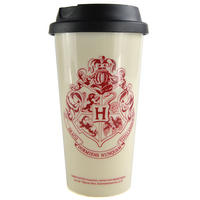 Harry Potter I Would Rather Be At Hogwarts Plastic Travel Mug Thumbnail 1