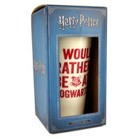Harry Potter I Would Rather Be At Hogwarts Plastic Travel Mug Thumbnail 3
