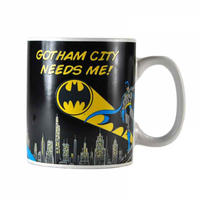 "Batman ""Gotham City Needs Me"" Heat Change Mug Thumbnail 3"