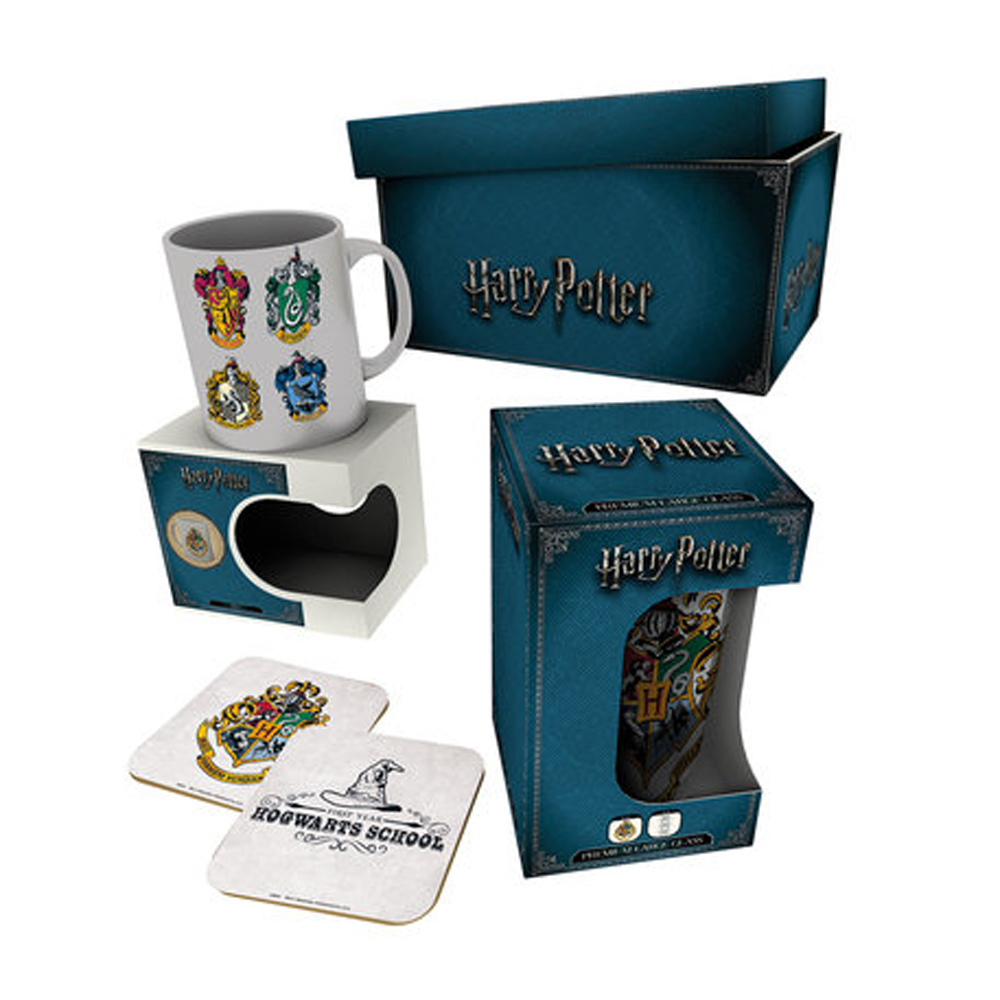 Harry Potter House Crests Gift Box