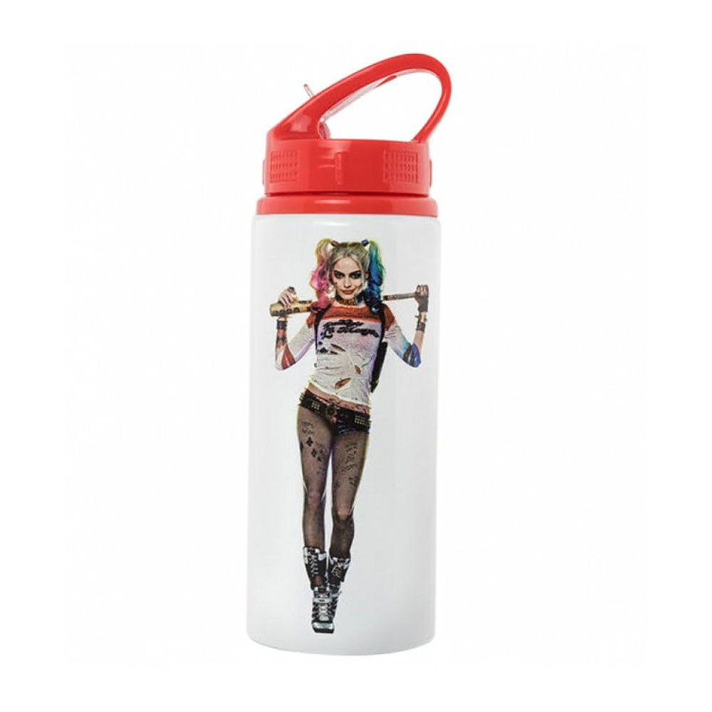 "Harley Quinn ""Daddy's Lil Monster"" Water Bottle"