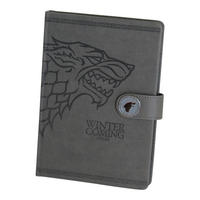 Game of Thrones Stark Premium A5 Hardback Notebook Thumbnail 1