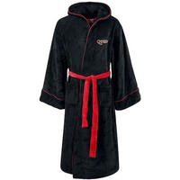Queen Black Fleece Dressing Gown