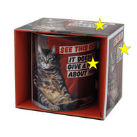 See This Cat, It Doesn?t Give A F*** About You Mug
