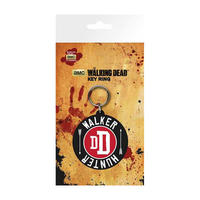 "The Walking Dead ""DD Walker Hunter"" PVC Keyring"
