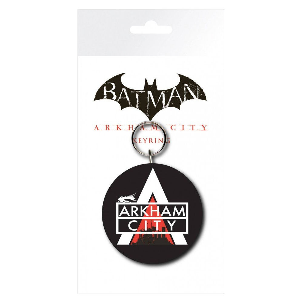 Batman Arkham City PVC Keyring