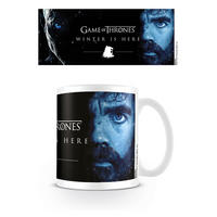 "Game of Thrones Tyron ""Winter Is Here"" Mug Thumbnail 1"