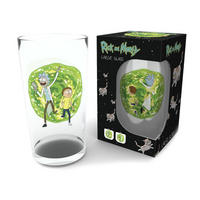 Rick & Morty Large Glass