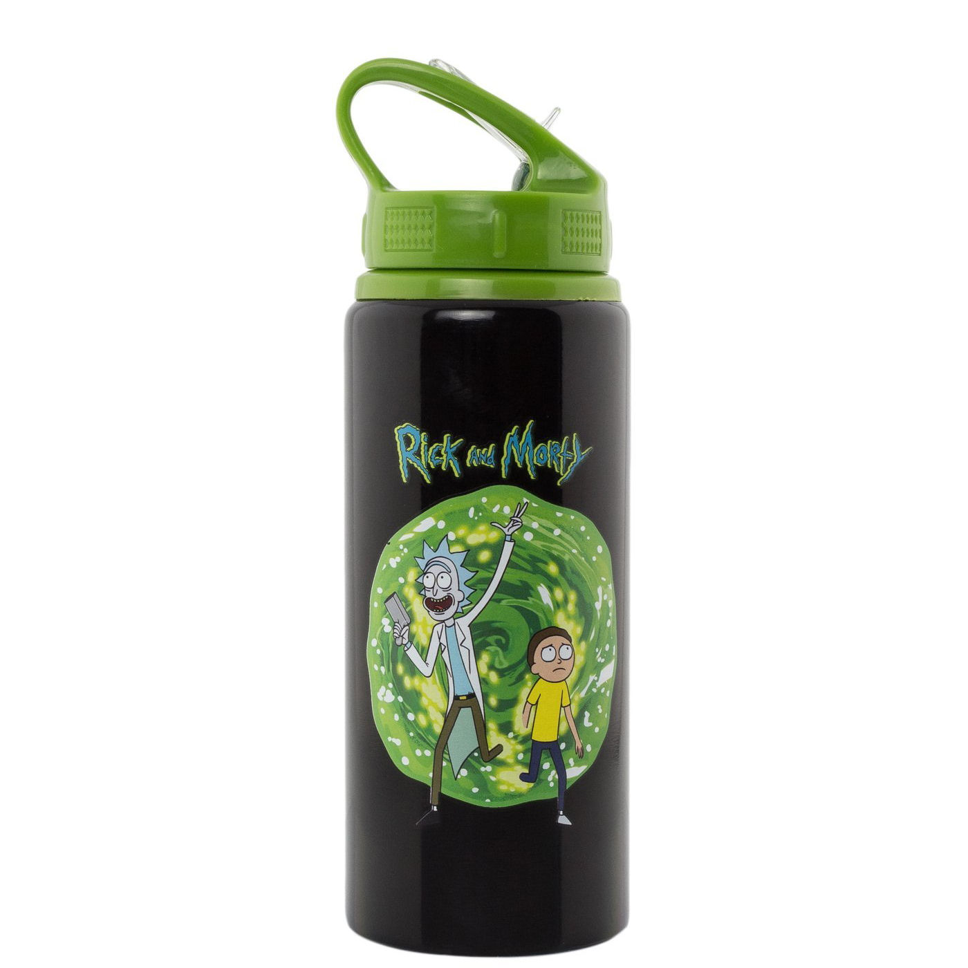Rick & Morty Portal Water Bottle