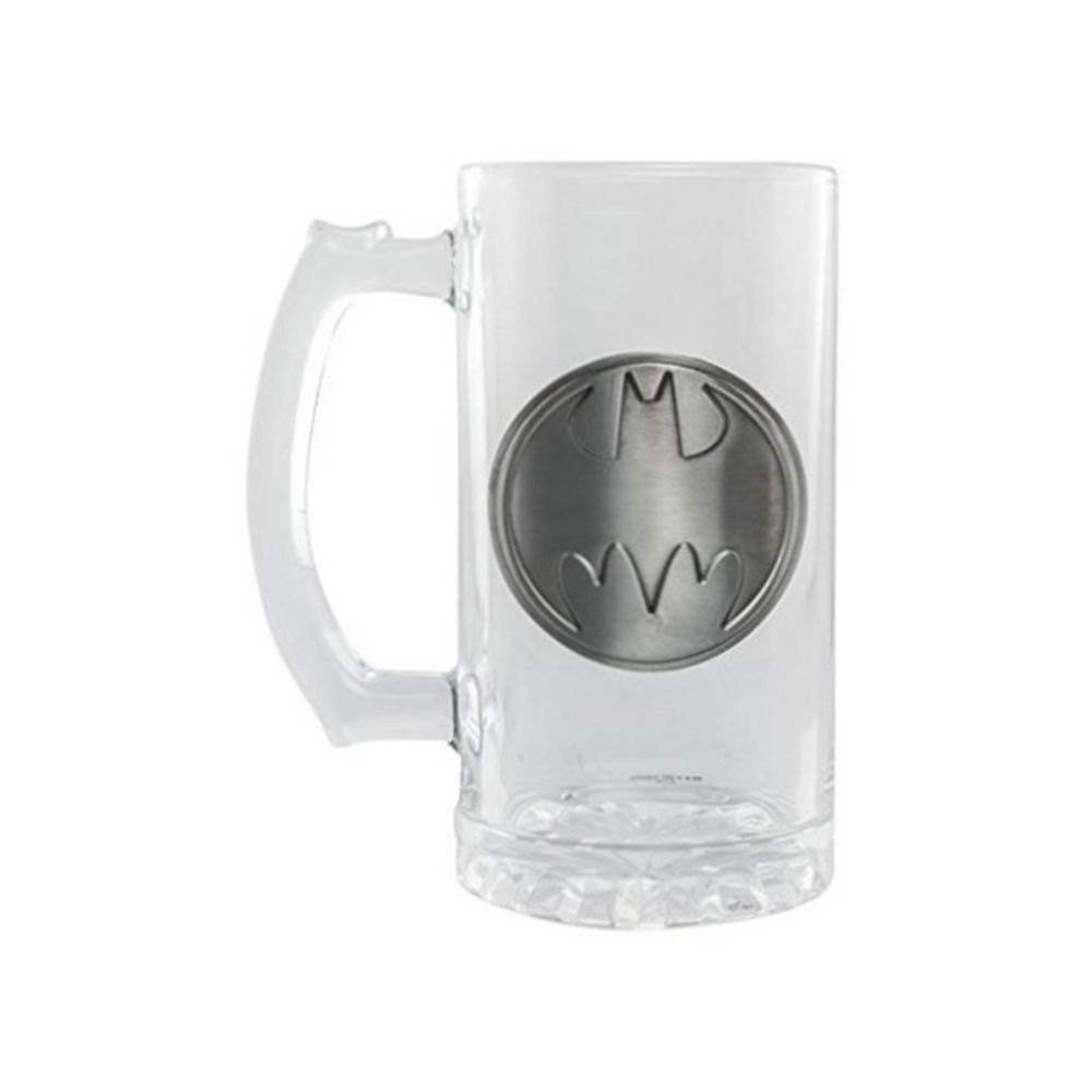 Batman Logo Glass Stein