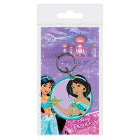 Disney Princesses Jasmine from Aladdin PVC Keyring Thumbnail 1